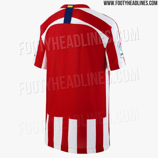 fb447c679dbff Primeras fotografías de la camiseta del Atlético de Madrid 2019-2020