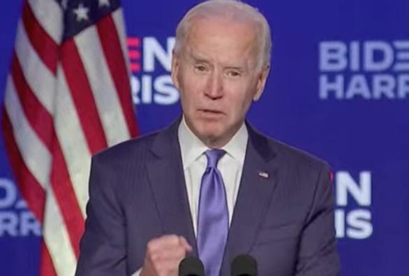 Ông Biden tuyên bố 'đang giành chiến thắng' và sẽ được hơn 300 phiếu đại cử tri