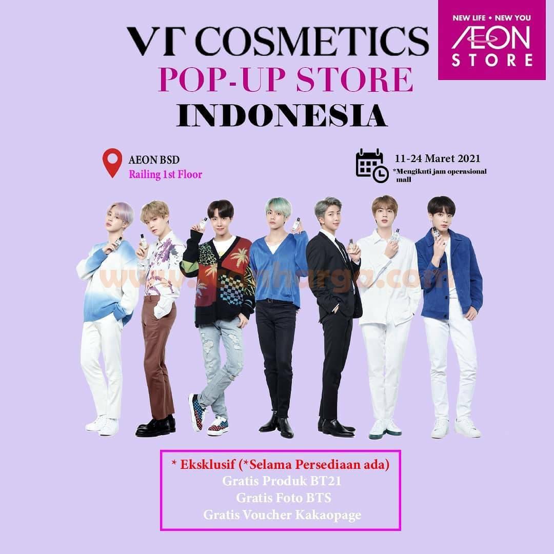 VT Cosmetics X BTS Limited Edition!  Sekarang Ada di AEON Store