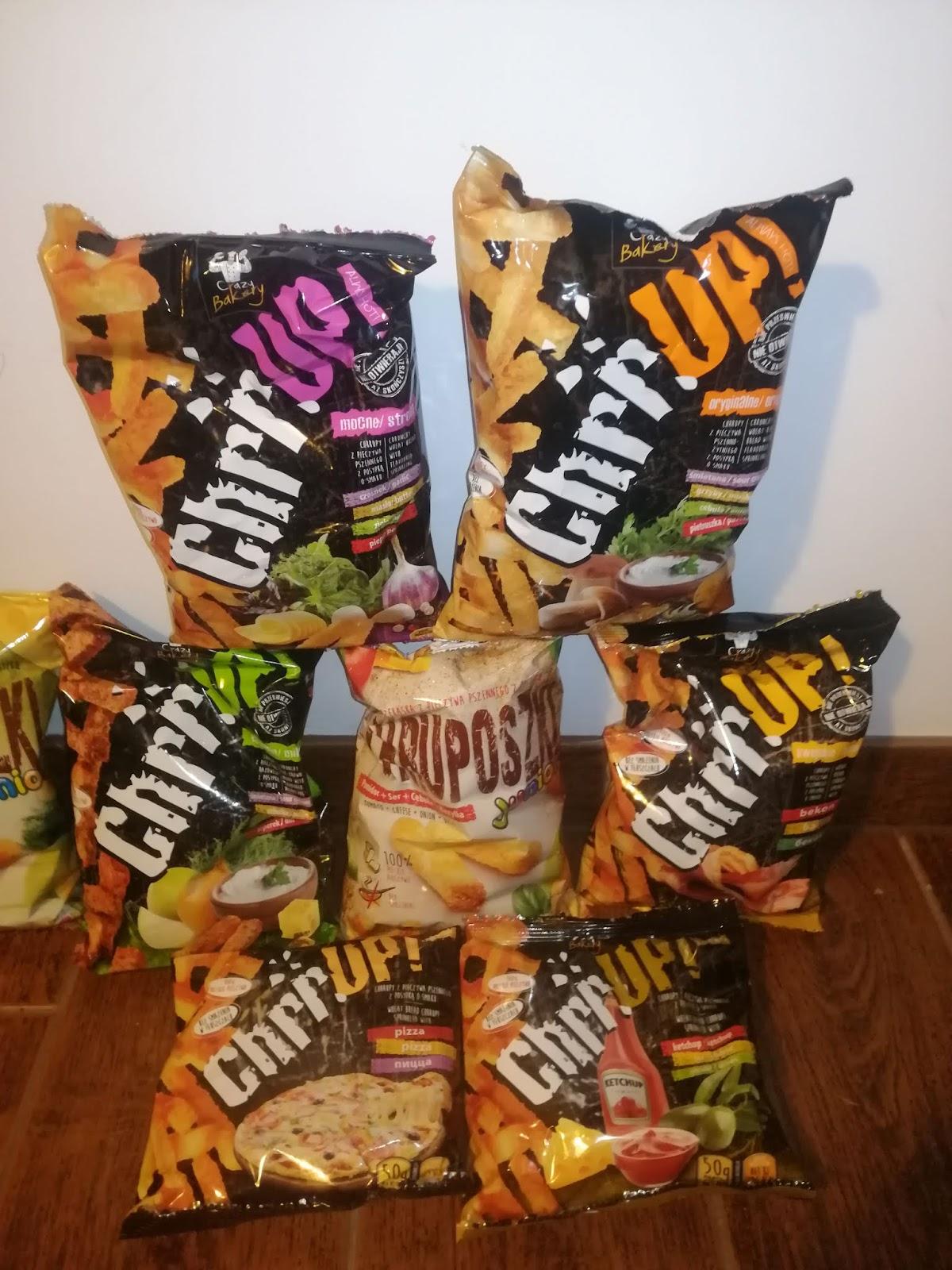 Chruposzki i Chrrupy - idealne przekąski