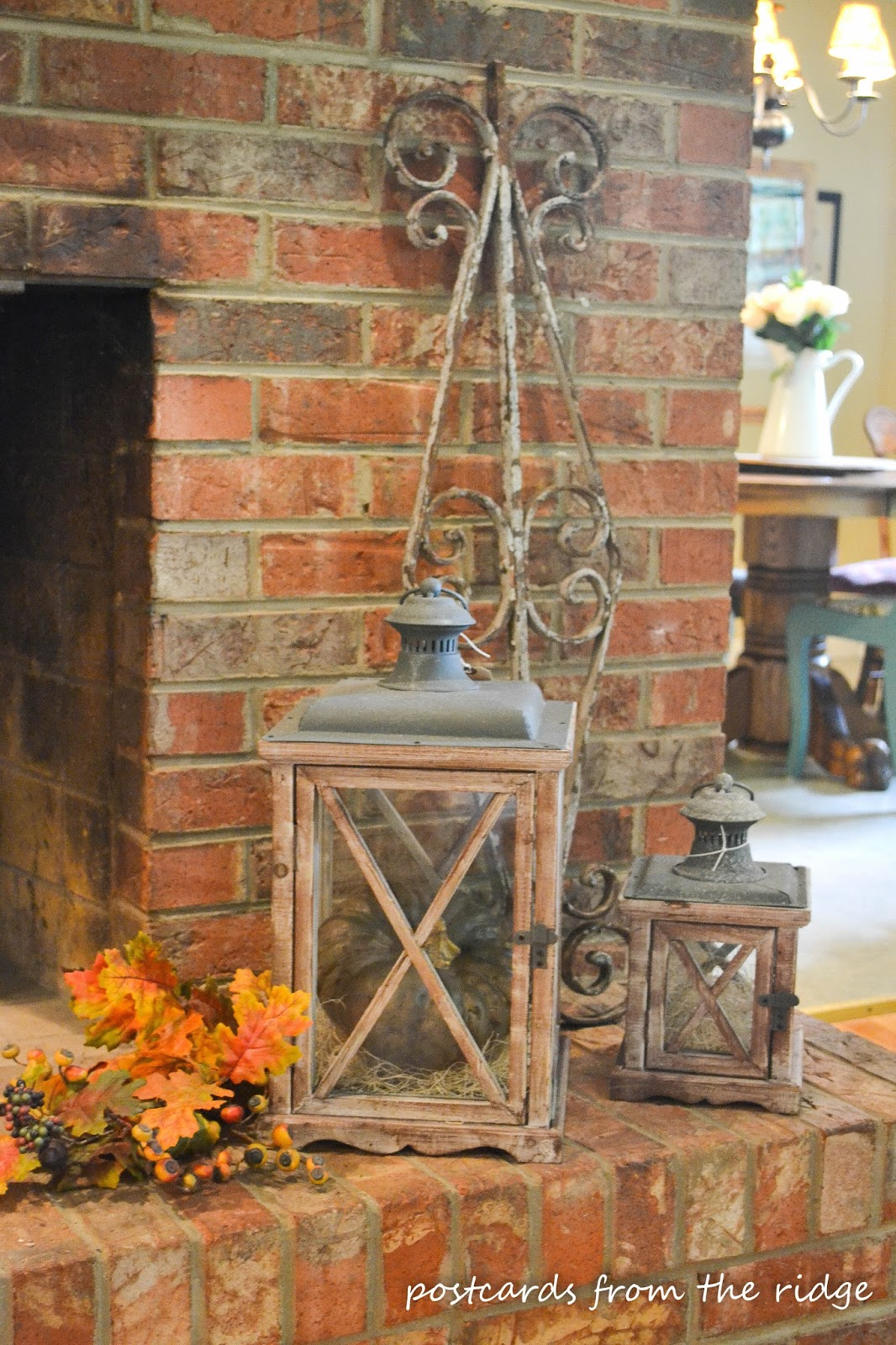 A Few Ideas For Fall Decorating Postcards From The Ridge