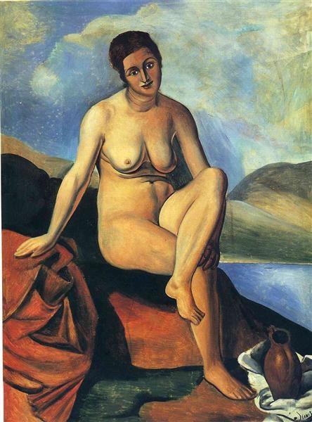 Андре Дерен André Derain Обнаженная женщина с кувшином
