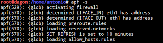 Esqueça Ufw Firewall use Apf Firewall