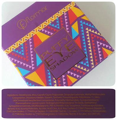 e2336629ec Esta Puffy eyeshadow, pertenece a la edición limitada ''Bohemian Dream''  que lanzó Flormar esta primavera/verano. Es una colección romántica y con  bastante ...