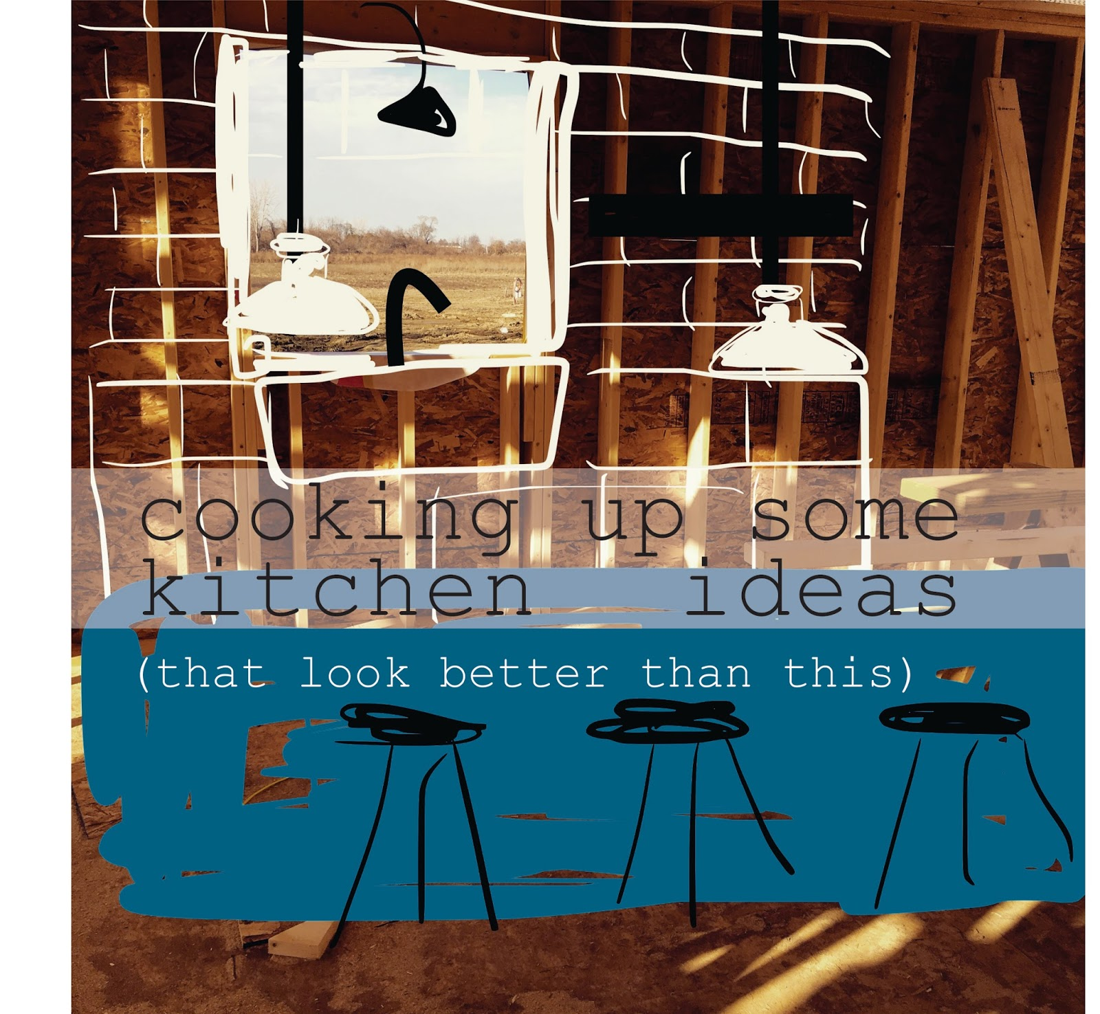 one house, 2 barns: cooking up some kitchen ideas