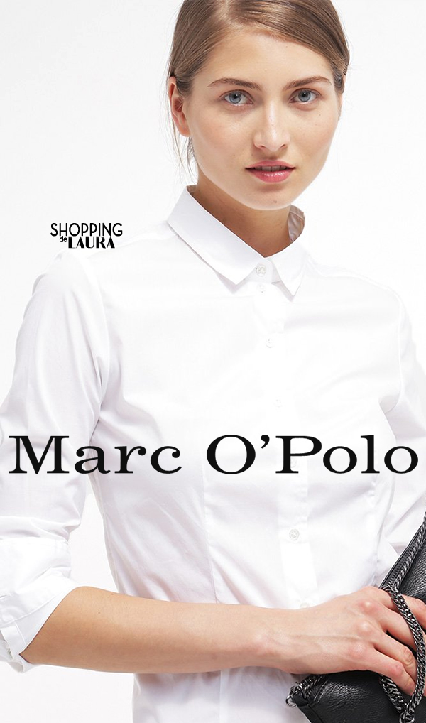 Chemise femme tendance : unie blanche MARCO POLO