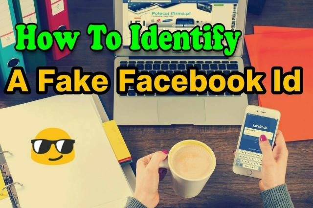 how to identify a fake facebook id