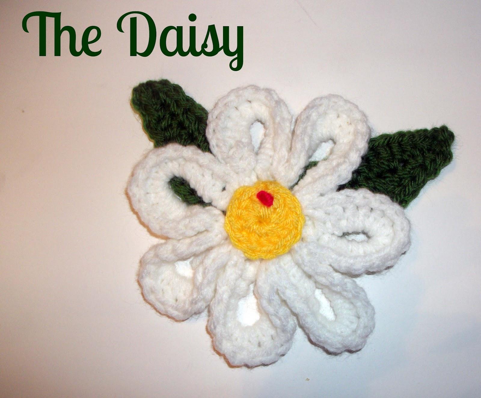 My big daisy crochet pattern melodycrochet my big daisy crochet pattern izmirmasajfo