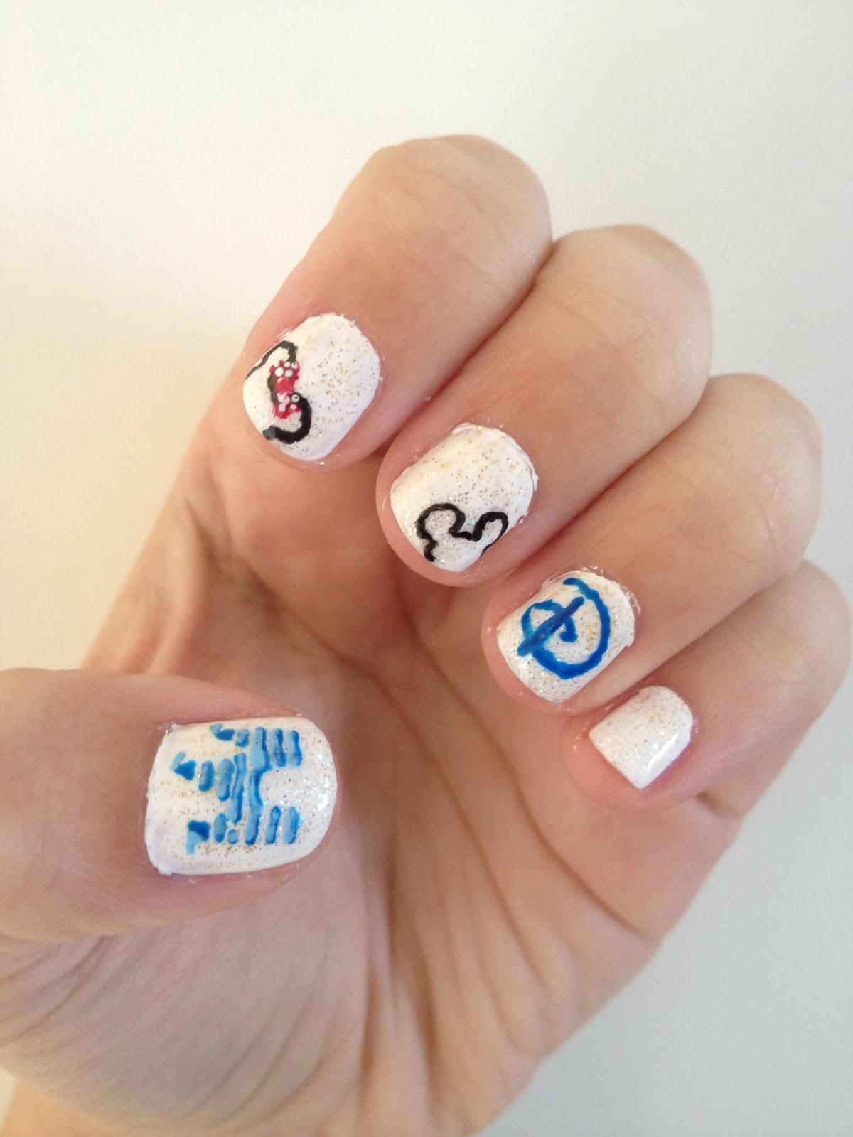 NAILed It.: Disney Nails