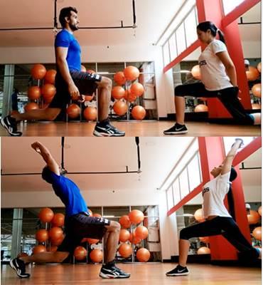 Ejercicios para estirar músculos de las caderas y zona frontal del tronco