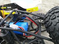 HBX 12889 Thruster Truck battery compartment