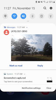The Android Pie Messages Picture Preview