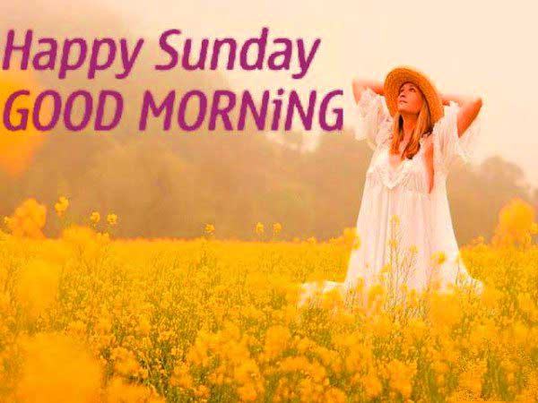 Images For WhatsApp: Good Morning With Happy Sunday