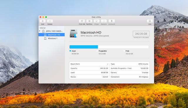 macOS High Sierra Dirilis 25 September