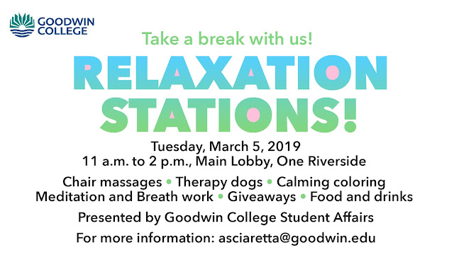 Relaxation Stations March 5, 2019