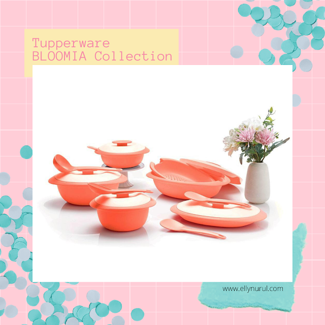 Tupperware Bloomia Collection
