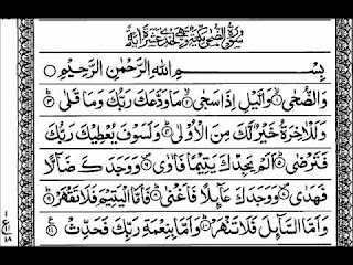 surah waduha benefits in urdu