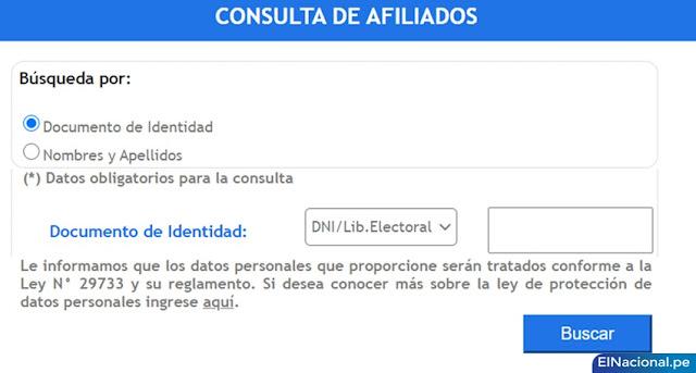 Pasos para realizar mi solicitud de retiro de AFP - www consulta retiro afp pe