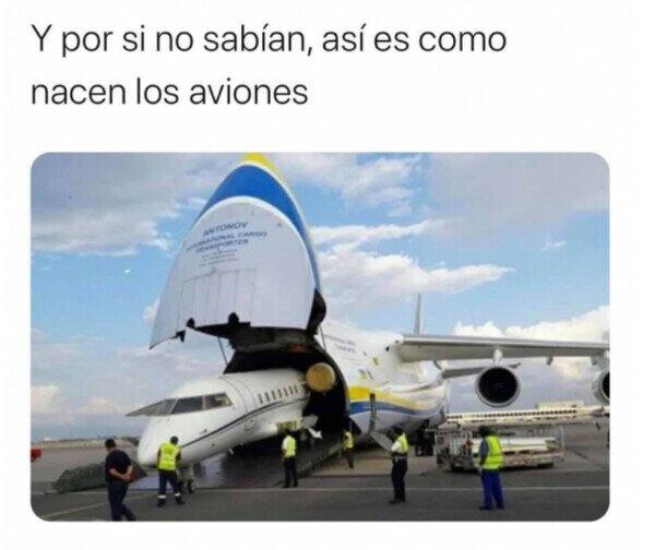 Así nacen los aviones