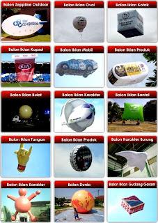 Produksi Jual Dan sewa Balon Promosi