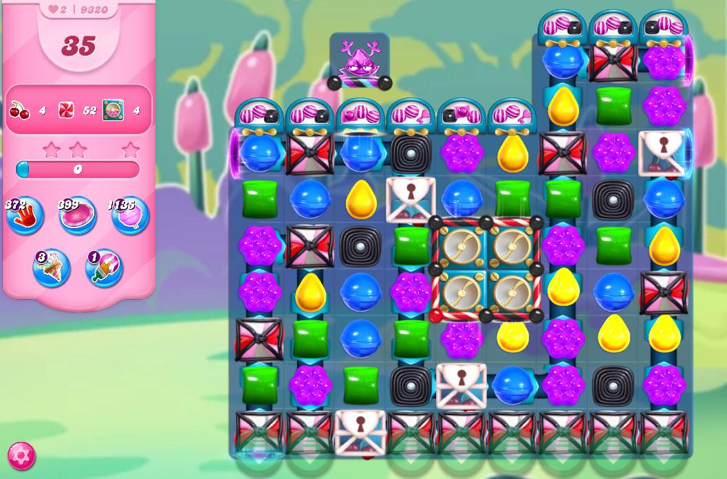Candy Crush Saga level 9320