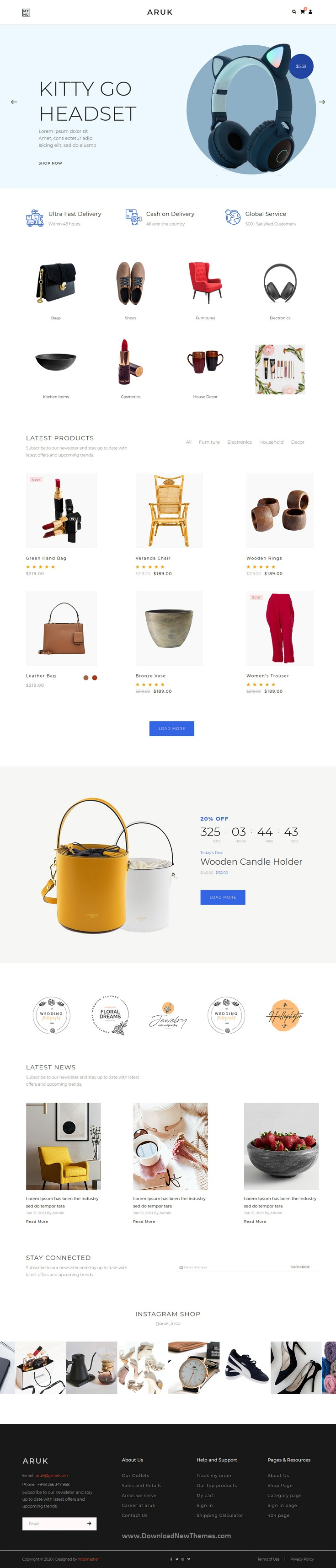 Multipurpose HTML eCommerce Template