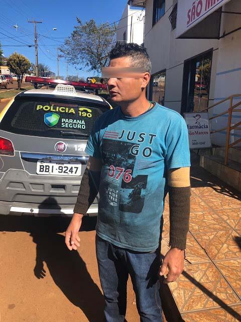 Barbaridade: Em ação rápida, Polícia Militar aborda rapaz acusado de aplicar golpes