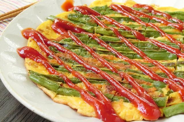 朝ごはんにぴったり!いんげんのチーズ入り卵焼きレシピ