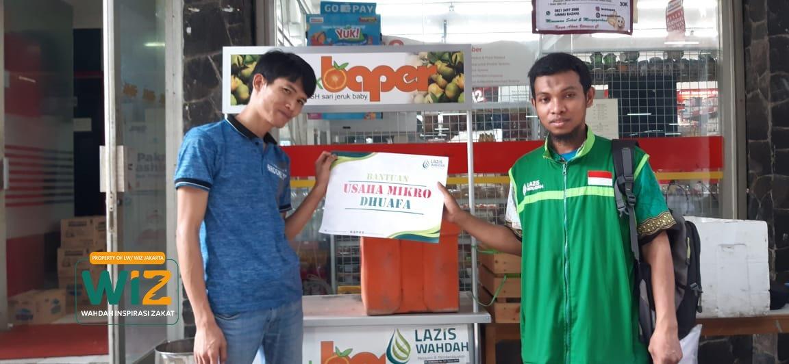 WIZ Bantu Kembangkan Usaha Dhuafa