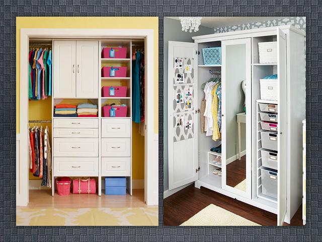 La yaya costurera tipos de armarios para organizar la ropa tipus d armaris per organitzar la - Organizar armarios empotrados ...
