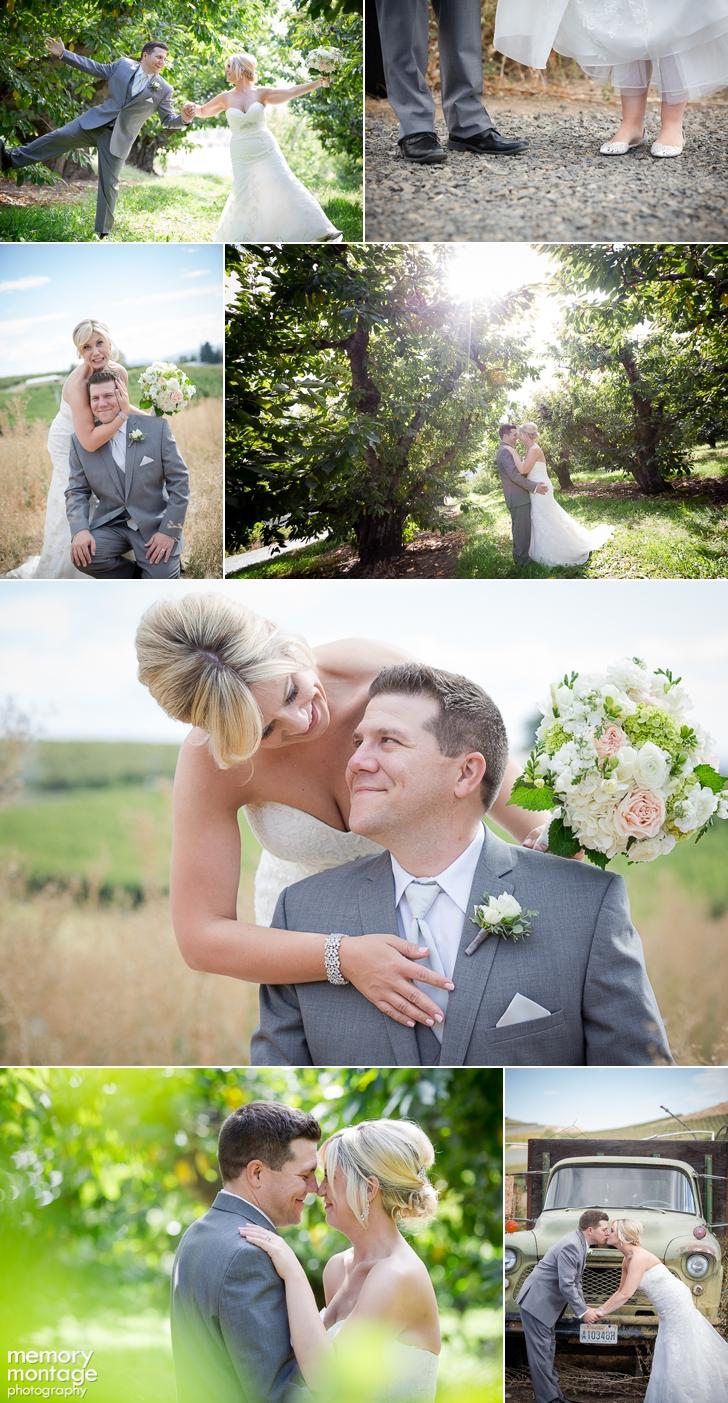 Marissa Pickett Tyler Pickett wedding Fontaine Estates Winery Naches WA
