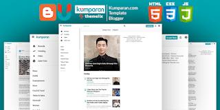 Kumparan News Premium Blogger Template Download