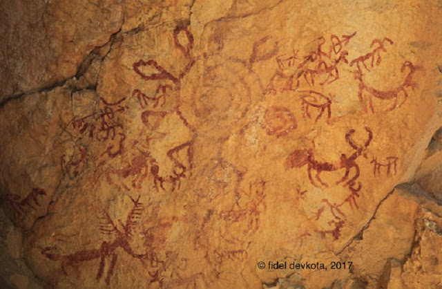 Prehistoric rock art discovered in Nepal