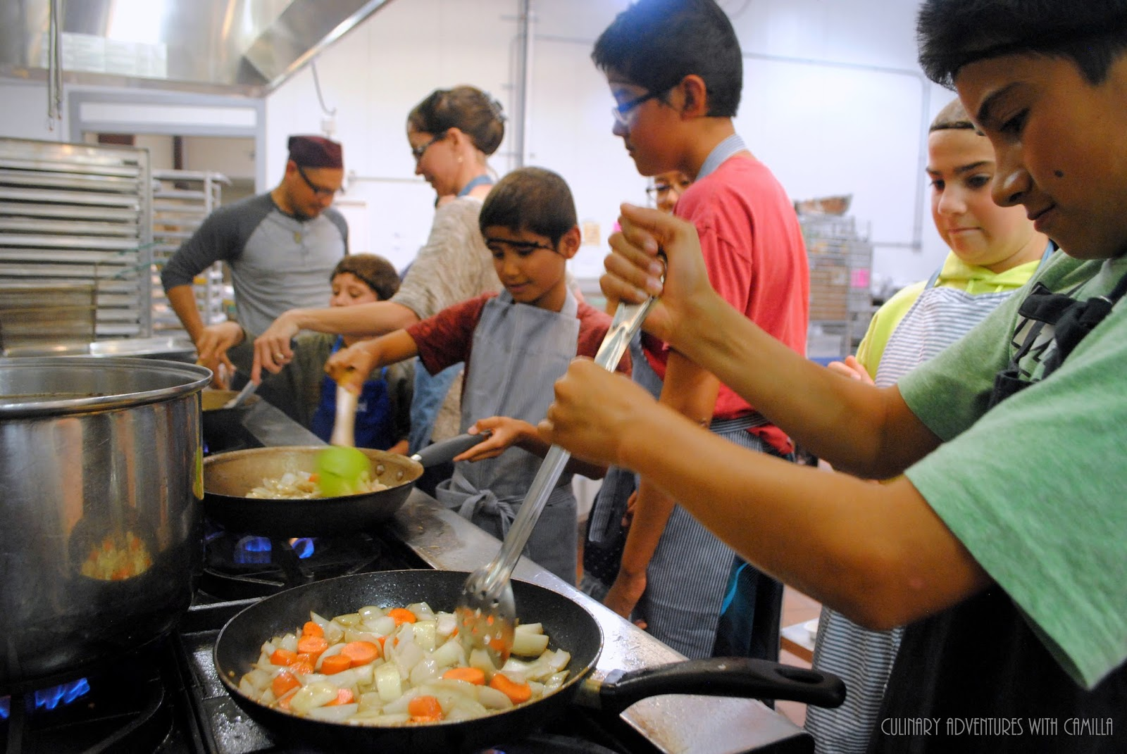 Culinary Adventures with Camilla: Mole Making Class and Mole Poblano for #CooktheBooks