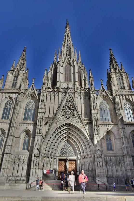 Catedral de Barcelona España