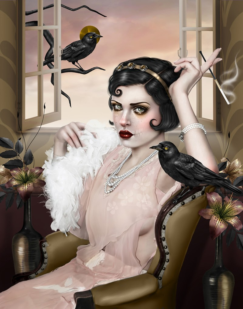 Figurative Art by Aunia Kahn