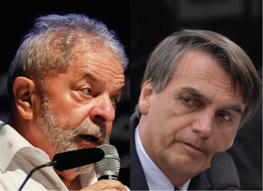 Lula e Bolsonaro