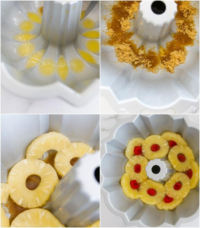 How to Make Pineapple Upside-Down Bundt Cake