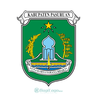 Kabupaten Pasuruan Logo Vector