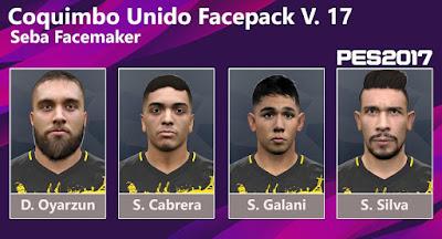 PES 2017 Facepack V17 by Seba