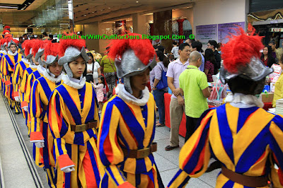 Swiss guard, Manila, Philippines
