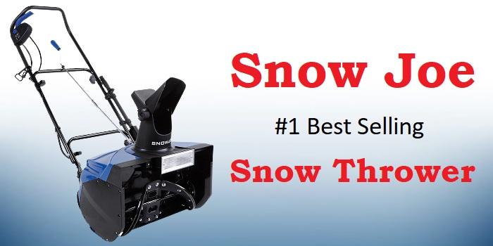 Snow Joe SJ623E - #1 Best Selling Snow Thrower