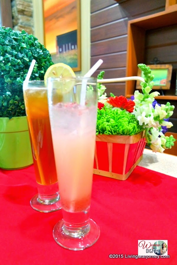 Pink Lemonade-Brewed-Iced-Tea via www.LivingMarjorney.com