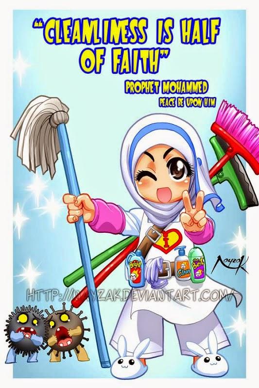 Kebersihan Separuh Daripada Iman