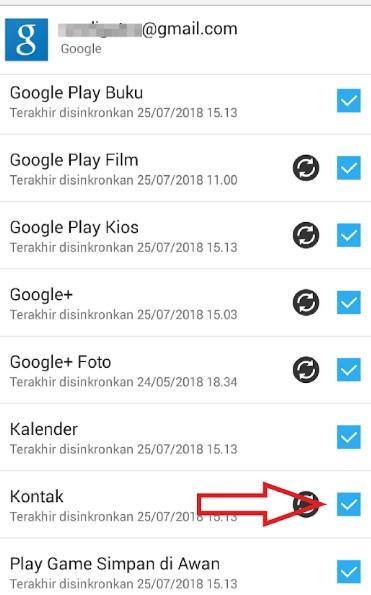 Cara Mudah Backup Kontak Di Hp Android Singgih Repairs
