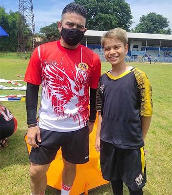 Farras Fatik dan Cristian Gonzales