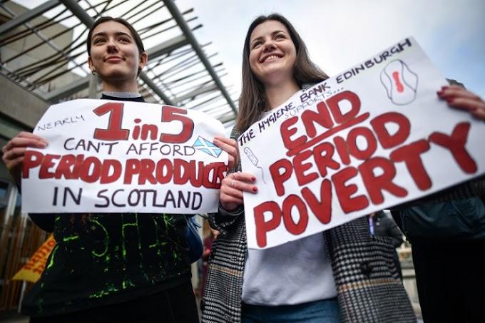 Η Σκωτία έγινε η πρώτη χώρα στον κόσμο που θα δίνει δωρεάν προϊόντα περιόδου σε γυναίκες