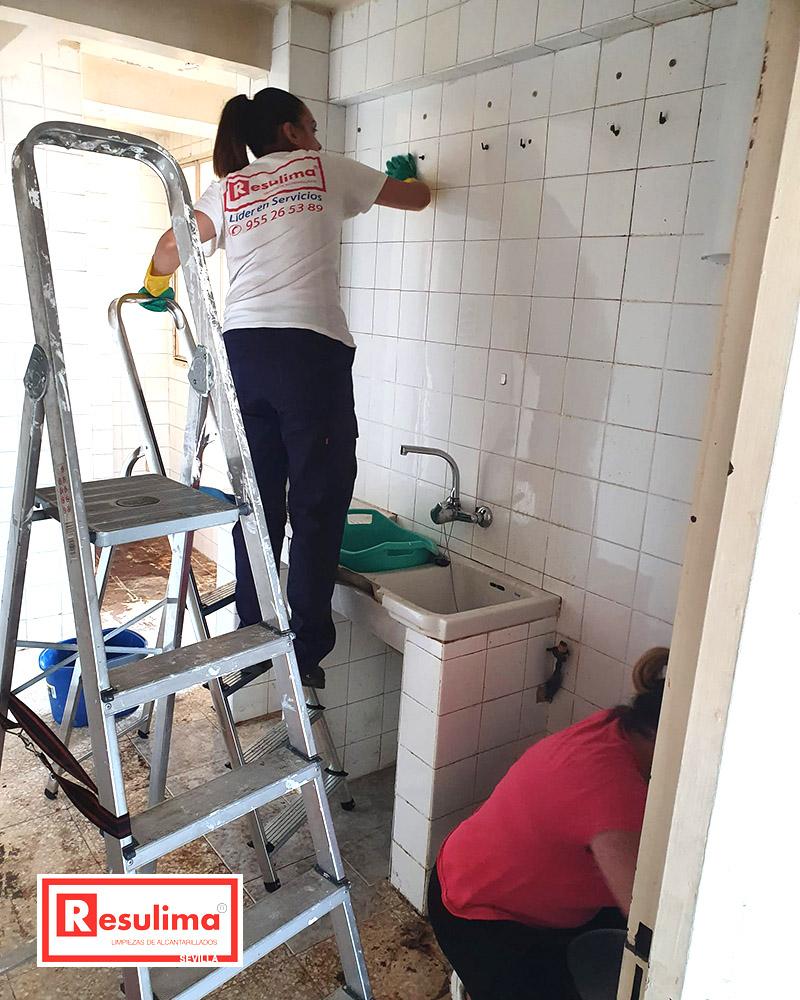Cómo conseguir una cocina desinfectada en Sevilla