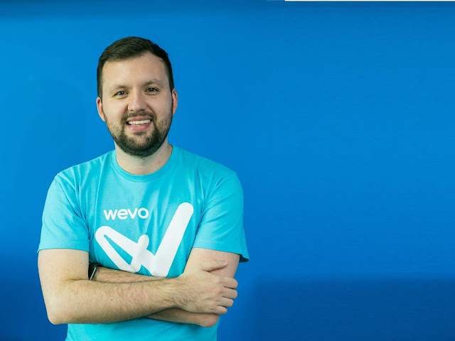 imagem do Diogo Lupinari é CEO na Wevo