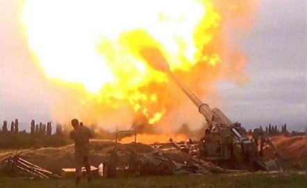 Azerbaijan fighting with Armenia